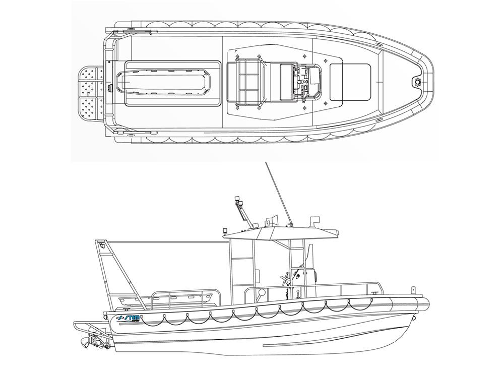 Rescue750P - Disegno Tecnico