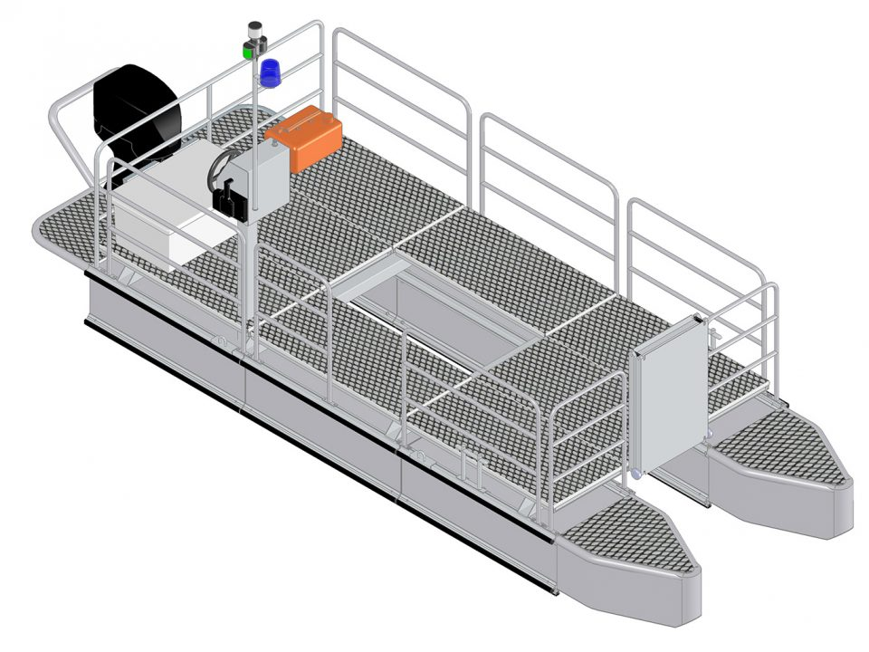 Catamarano per soccorso Mini Noah