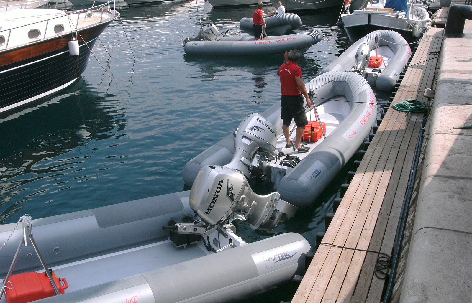 RIB per servizi portuali Portual 460