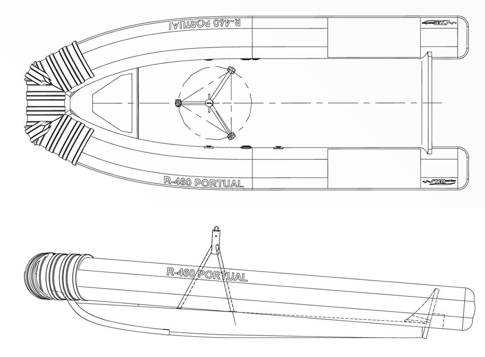 Portual 460 - Disegno Tecnico