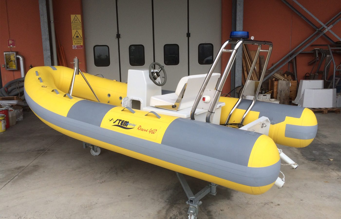 RIB per soccorso e pattugliamento Rescue 460