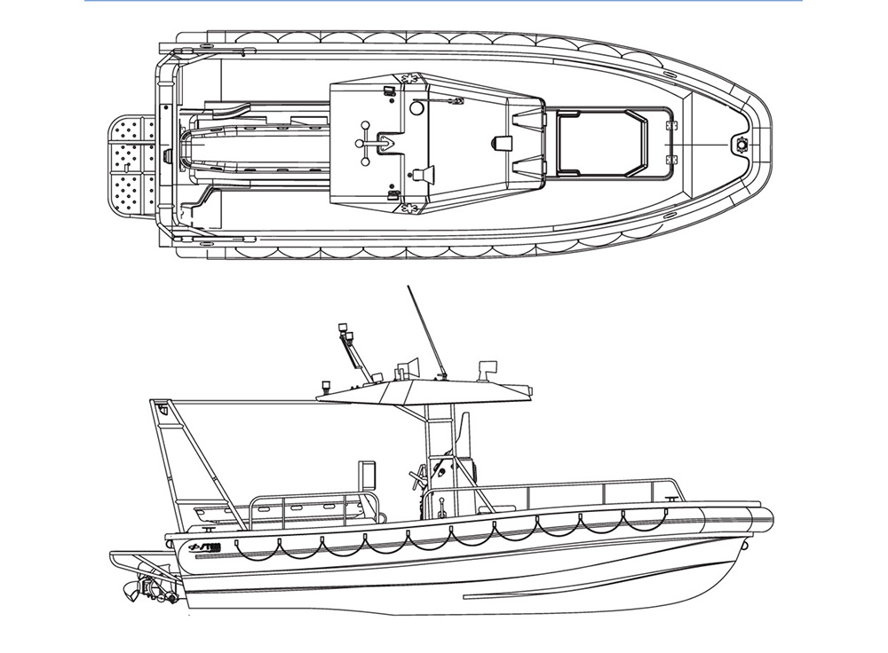 Rescue 750 Jet - Disegno Tecnico