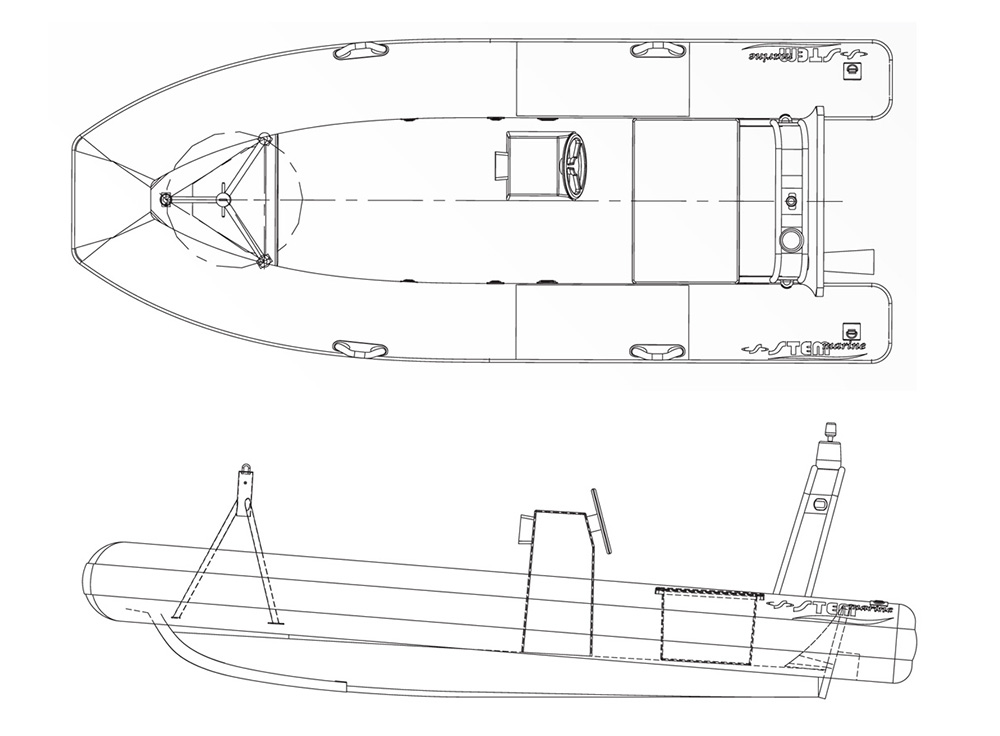 Rescue 460 - Disegno Tecnico