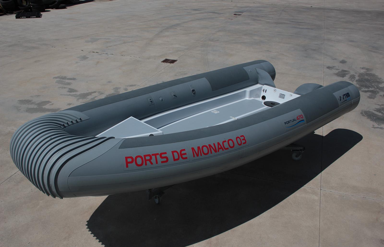 RIB per servizi portuali Stem 520